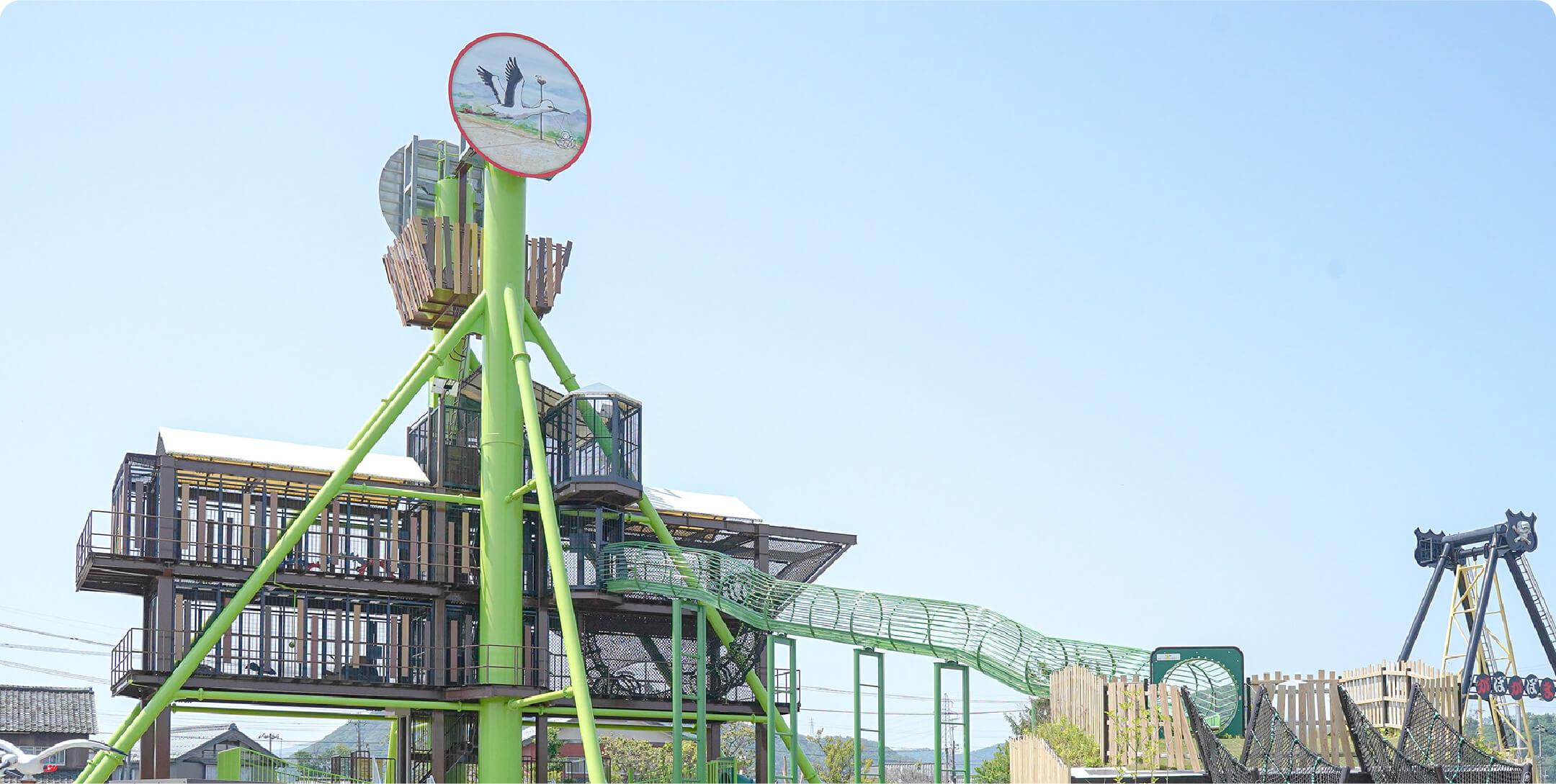コウノトリ広場